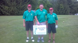 Brother Knights Golfing to Support Vocations